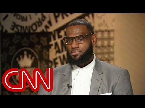 LeBron James explains why he called Trump a