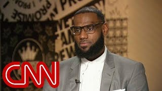 LeBron James explains why he called Trump a