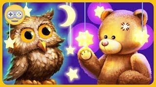 Засыпайка для малышей - Спокойной Ночи * Уложи спать игрушки дома * мультик игра на Kids PlayBox
