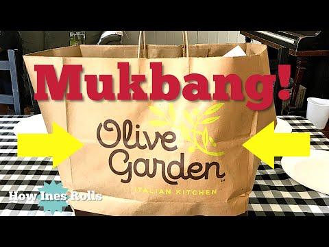 OLIVE GARDEN Mukbang Family Dinner | Come Eat Dinner With Us