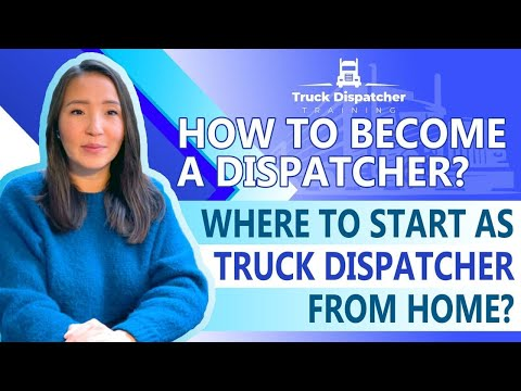 🆕How To Become A Dispatcher? Where To Start? How To Become A Truck Dispatcher 2020 Video