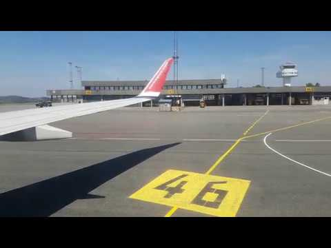 FULL FLIGHT - Bergen To Oslo On Norwegian Boeing 737-800