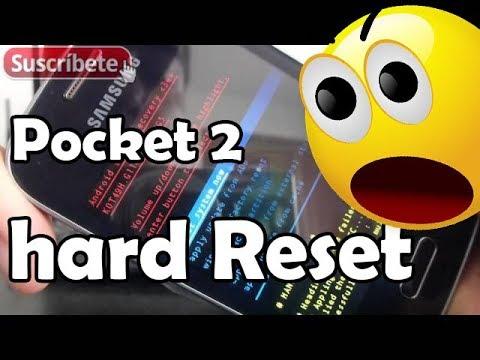 Samsung Galaxy Pocket 2 hard reset Como Resetear a modo fábrica