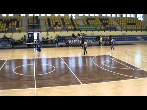 Finał AMP w Futsalu - Katowice 2012' cz.12 * AZS UG Gdańsk - UR Rzeszów * 2 połowa