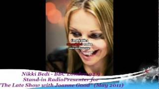 "BBC London 94.9 - Nikki Bedi: Guest Presenter on ""The Late Show with Jo Good"""