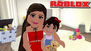 OUR KID IS BACK FROM SUMMER CAMP! Meet Olive! Bloxburg Roleplay | roblox