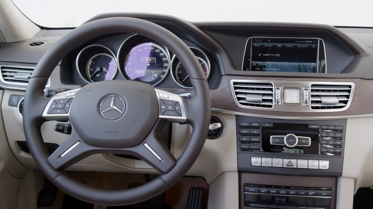 אדיר 2013 Mercedes E 300 - INTERIOR - YouTube BX-94
