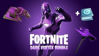 "HOW TO GET RARE ""DARK VERTEX"" BUNDLE in Fortnite! NEW EXCLUSIVE Fortnite SKIN BUNDLE!"