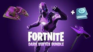 """COMMENT GET RARE """"DARK VERTEX"""" BUNDLE à Fortnite! NOUVEAU EXCLUSIF Fortnite SKIN BUNDLE!"""