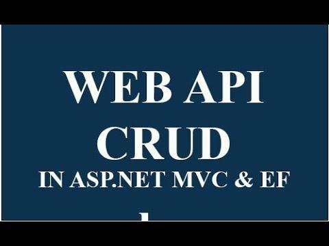 ASP.NET MVC WEBAPI CRUD operation using Jquery example- Hindi