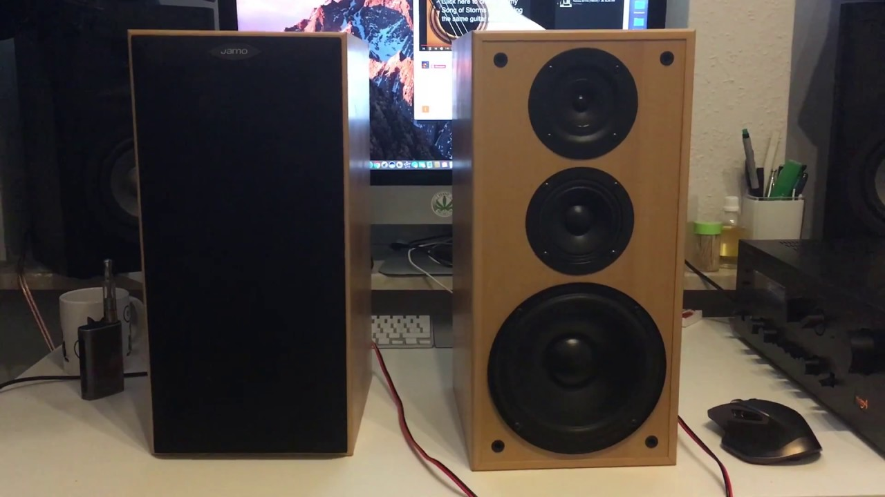 Jamo E 410 (Full HD) Lautsprecher Speakers + Technics SU