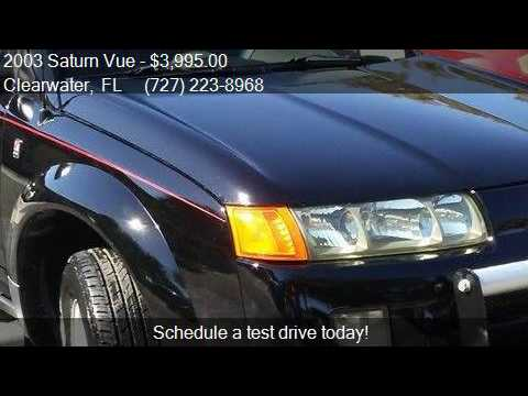 2003 Saturn Vue Base Fwd 4dr SUV V6 for sale in Clearwater,
