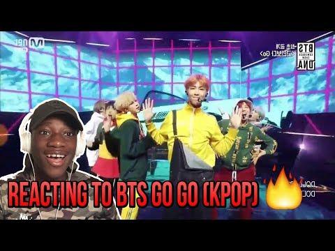 BLACK GUY REACTS TO BTS (방탄소년단) - Go Go (고민보다 Go) (FIRST EVER BTS COMEBACK SHOW)