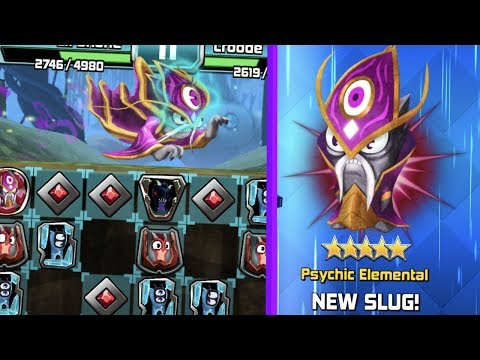 *NEW* PSYCHIC ELEMENTAL! - MIND WAVES AND POWER - SLUGTERRA SLUG IT OUT!