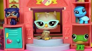 Słodki dzień w szkole - Littlest Pet Shop - Unboxing