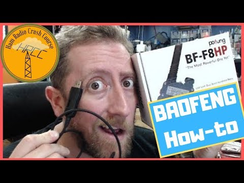BaoFeng Ham Radio Complete Setup And Programming! UV-5R BF-F8HP