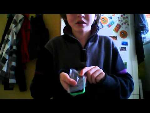 Unboxing a Sony ericsson Mix Walkman/deutsch