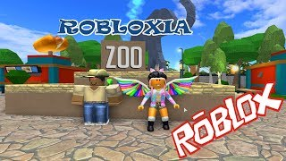 Roblox | Robloxia Zoo | Lions And Tigers And Bears Oh My! And More Games (Roblox Games Kid Friendly)