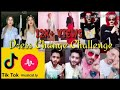 Dress Change Challenge Best Tik Tok Videos || Just The Way You Like Maybe I || Musically Challenge.
