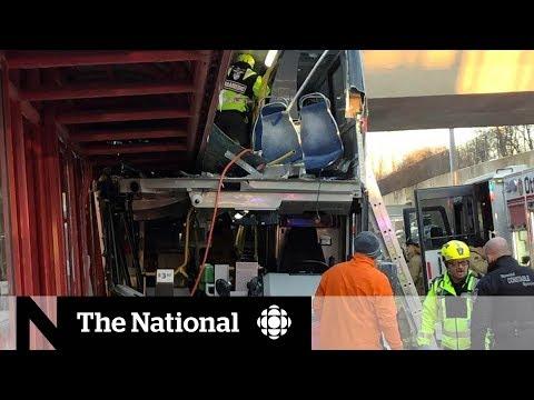 Driver in fatal Ottawa bus crash facing 38 criminal charges