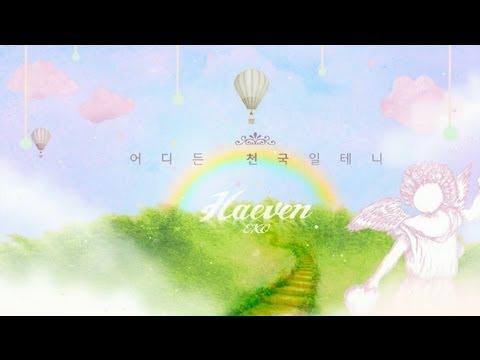 EXO-K  너의 세상으로(angel) 타이포모션