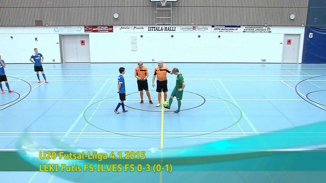 U20 Futsal-Liiga FC Kemi ja LeKi FS-Ilves FS kooste 4.1.2015 Iittala-halli - YouTube