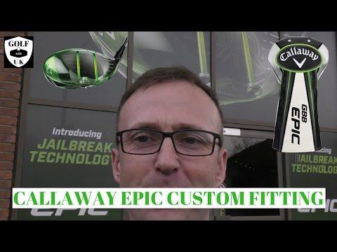 GREAT BIG BERTHA CALLAWAY EPIC/SUB ZERO - Live custom fitting at Callaway uk!