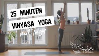 25 Minuten Vinyasa Yoga | Flow für mehr Kraft und Beweglichkeit