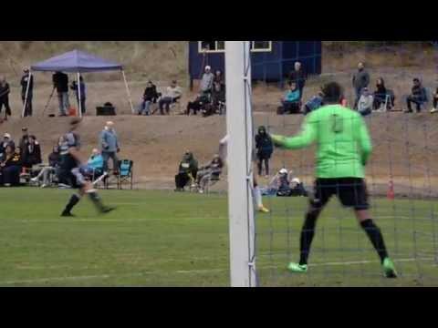 #14 Corban Men's Soccer vs NCU (2016 Highlights)