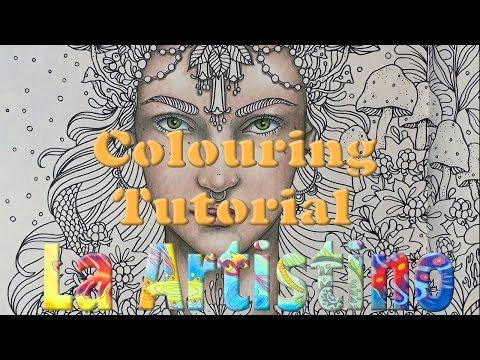 Colouring Tutorial: Colouring a face in Dagdrömmar.
