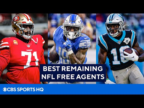 NFL Free Agency: Best Remaining Free Agents   CBS Sports HQ
