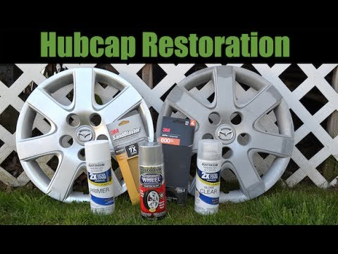 How to Paint Hubcaps