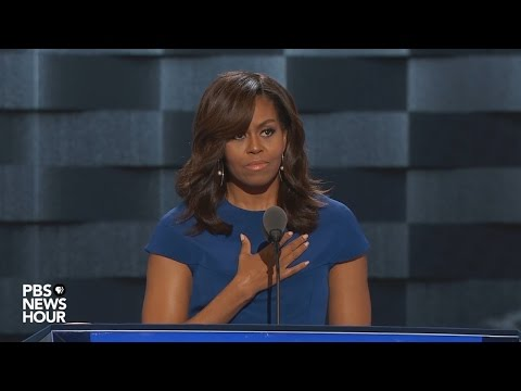 Watch first lady Michelle Obama's full speech at the 2016 Democratic National Convention