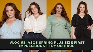 Vlog #5: HUGE ASOS Curve Plus Size First Impressions + Try on Haul