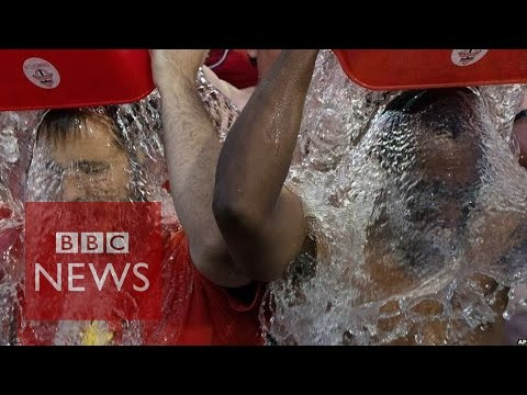 Ice bucket challenge: What's it like to live with ALS? BBC News