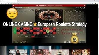 ONLINE CASINO⭐️European Roulette Strategy The pretty girl ✔️