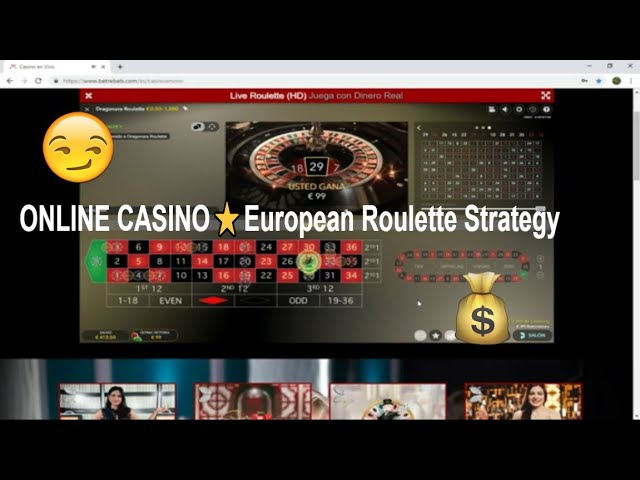 ONLINE CASINO⭐️European Roulette Strategy The pretty girl ✔️