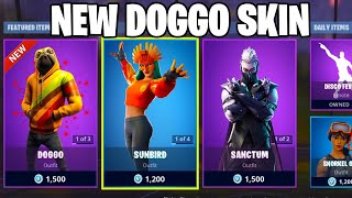 THE NEW DOGGO SKIN IN FORTNITE IS AWESOME! (NEW DOGGO SKIN)