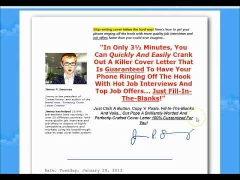 Amazing Cover Letters Review   My Official Uncensored Review   YouTube  Amazing Cover Letters