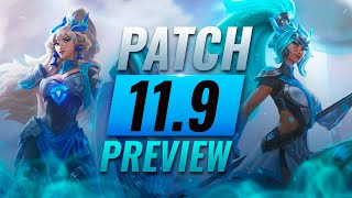 NEW PATCH PREVIEW: Upcoming Changes List For Patch 11.9 - League of Legends