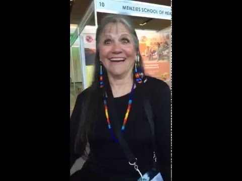 Talking cancer care for American Indians with Dr Linda Burhansstipanov at #WICC2016