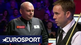 Somebody Is Making an Awful Noise!   Snooker Masters 2020   Eurosport