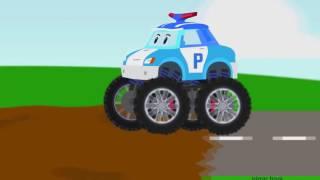 Мультик Полицейская машина. Пожарная машина.Рабочие машины. Мультики про машинки все серии подряд.