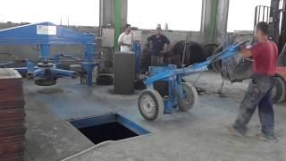 Линия по производсву бетонных колец без дозатора C1200 от компании(Линия по производству бетонных колец без дозатора C1200 от компании Metalika производительностью до 60 шт в час., 2015-06-08T09:44:41.000Z)