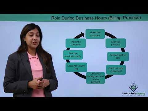 Retail Management - Cashiering