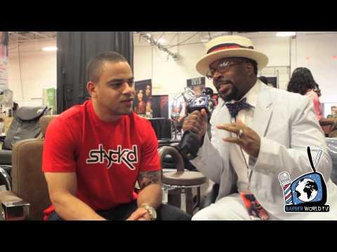 Jay-Z's Barber Johnny Cake first BARBER WORLD TV interview with Kamal Nuru AKA Zoe Mega Millions on