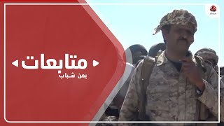 نازحو تعز بمأرب يسيرون قافلة لدعم مقاتلي الجيش في جبل مراد