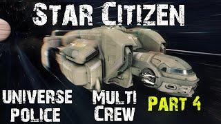 Star Citizen 2.4 - Starfarer Gemini - Multi Crew - Universe Police