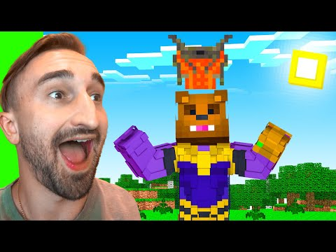 Stealing Draconic Evolution Armor To STOP THANOS In Insane Craft W/ SSundee
