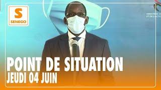 Coronavirus : 89 nouveaux cas enregistrés au Sénégal, ce jeudi 04 juin (Senego-TV)